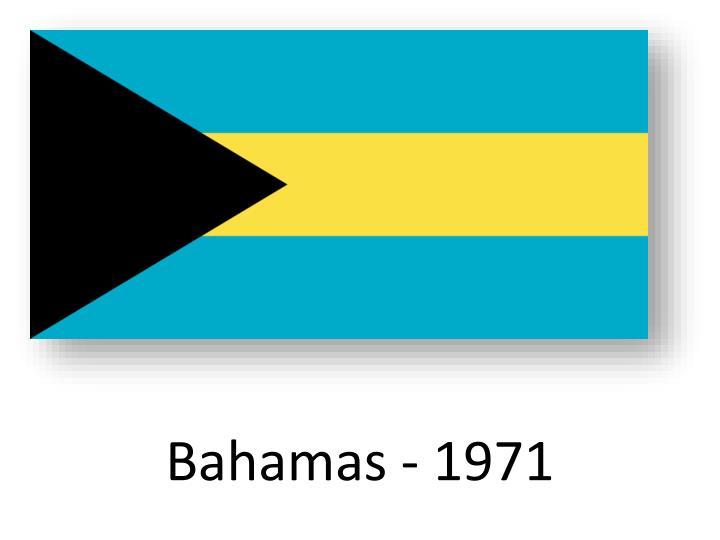 Bahamas - 1971