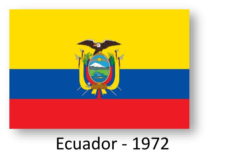 Ecuador - 1972