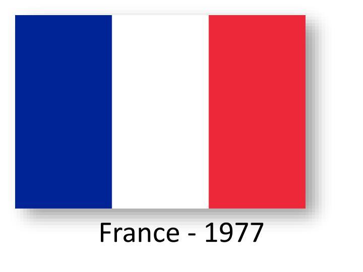 France - 1977