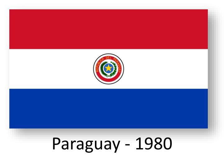 Paraguay - 1980