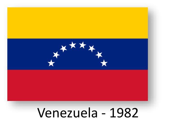 Venezuela - 1982