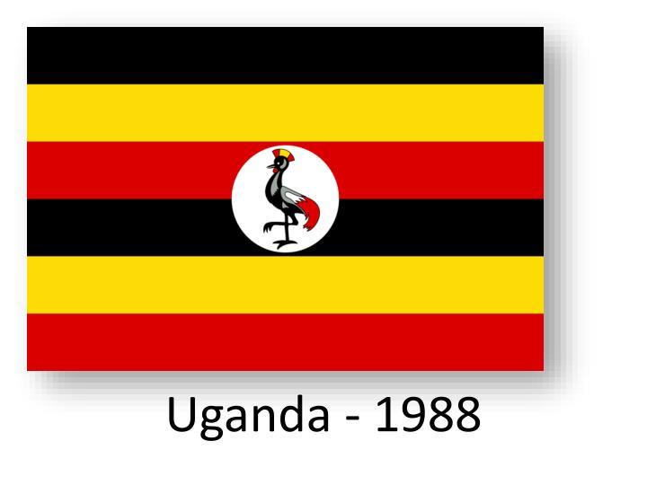 Uganda - 1988