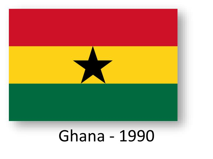 Ghana - 1990