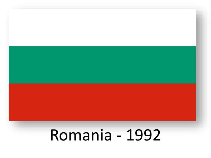 Romania - 1992