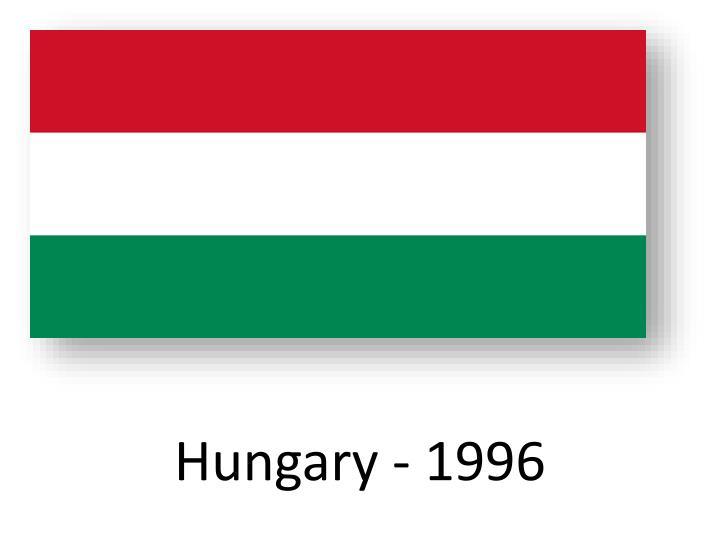 Hungary - 1996