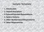 sample template