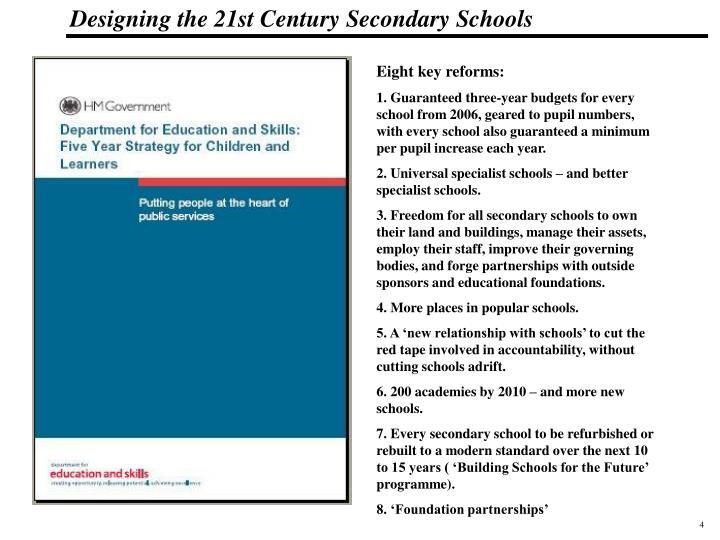 Eight key reforms: