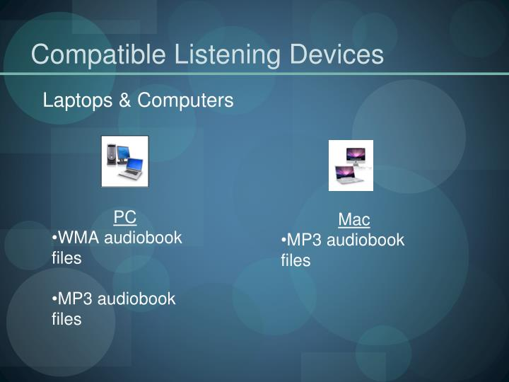 Compatible Listening Devices