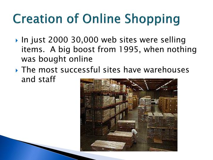 Creation of Online Shopping