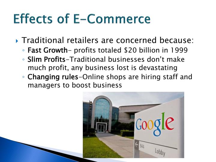 Effects of e commerce