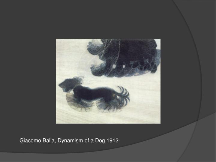 Giacomo Balla, Dynamism of a Dog 1912