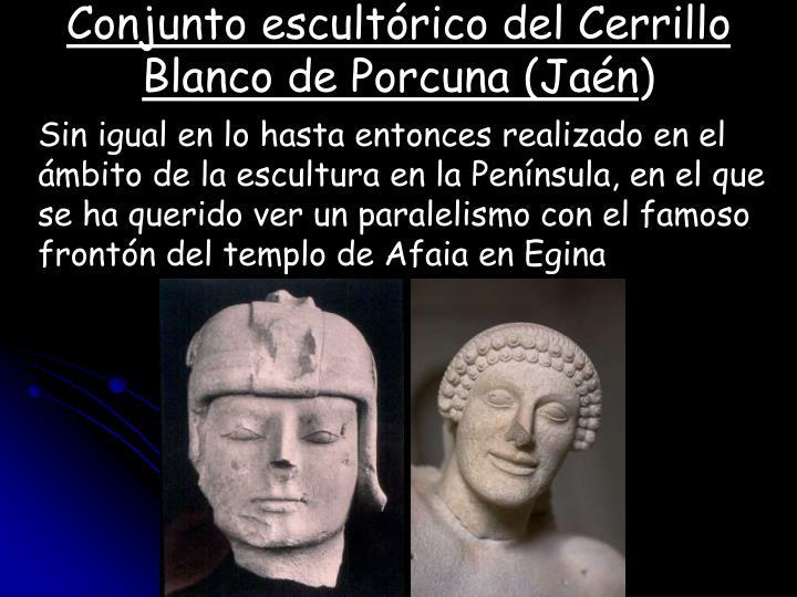 Conjunto escultórico del Cerrillo Blanco de Porcuna (Jaén