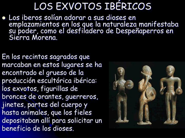 LOS EXVOTOS IBÉRICOS