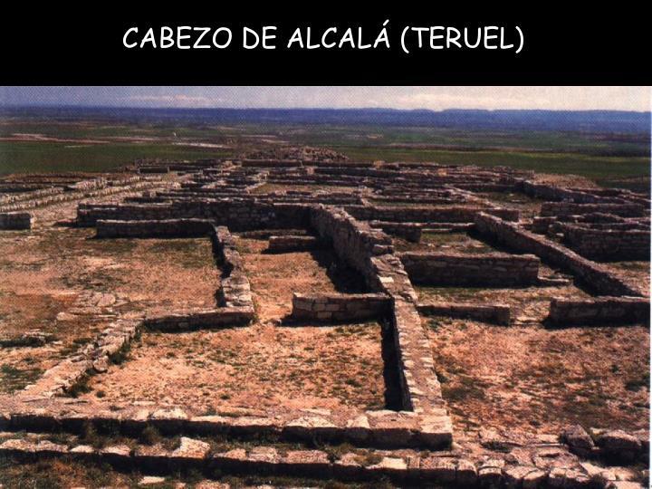 CABEZO DE ALCALÁ (TERUEL)