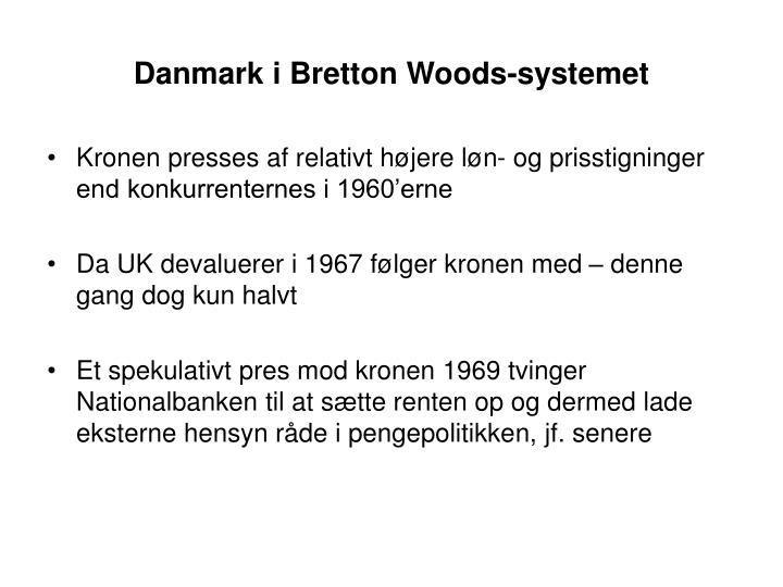 Danmark i Bretton Woods-systemet