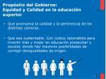 prop sito del gobierno equidad y calidad en la educaci n superior1