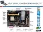 p yta g wna komputera motherboard c d