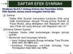 daftar efek syariah1