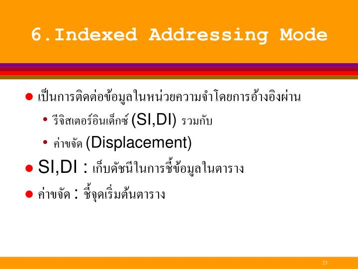 6.Indexed
