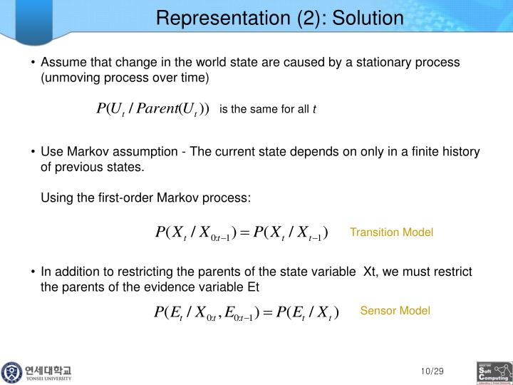 Representation (2): Solution