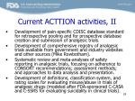 current acttion activities ii