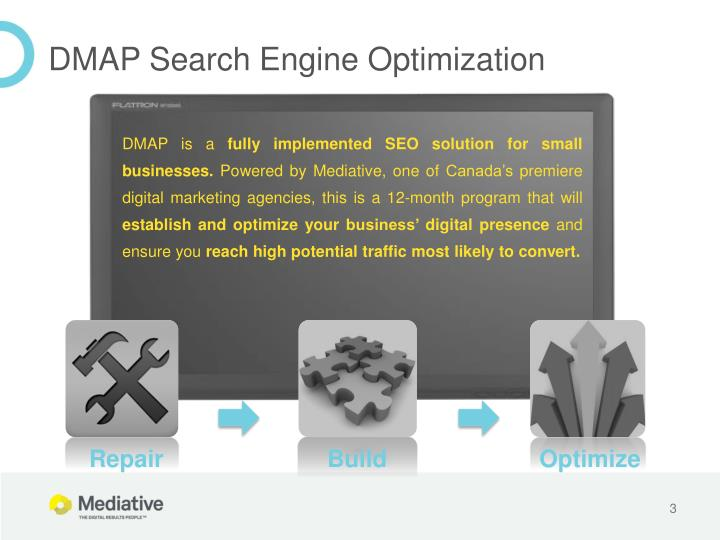 Dmap search engine optimization