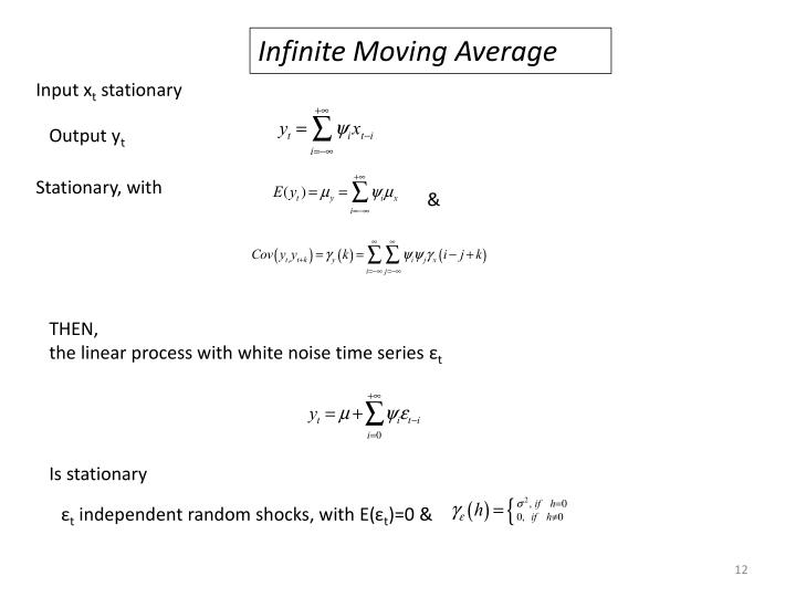 Infinite Moving Average