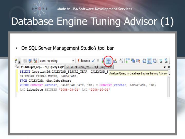 Database Engine Tuning Advisor (1)