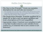 dublin core principles