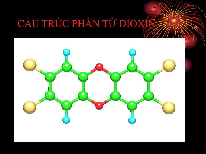 CẤU TRÚC PHÂN TỬ DIOXIN