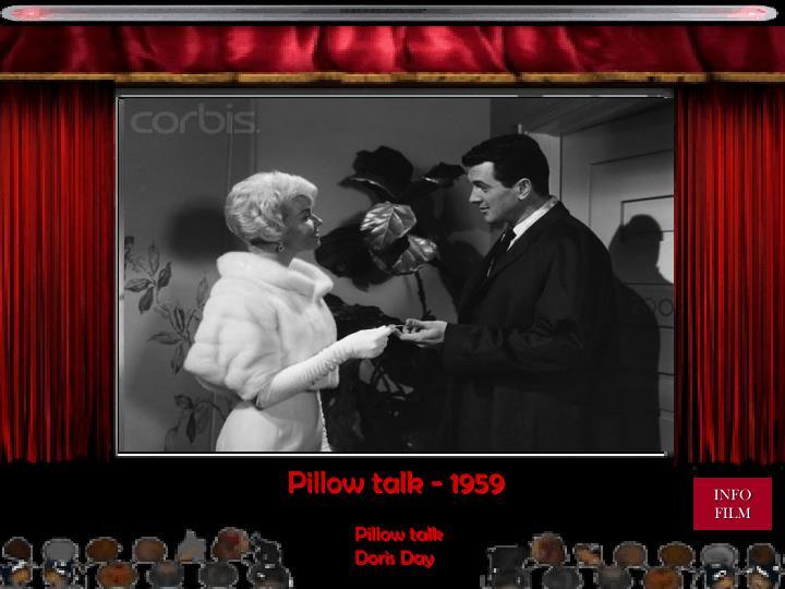 Pillow talk - 1959