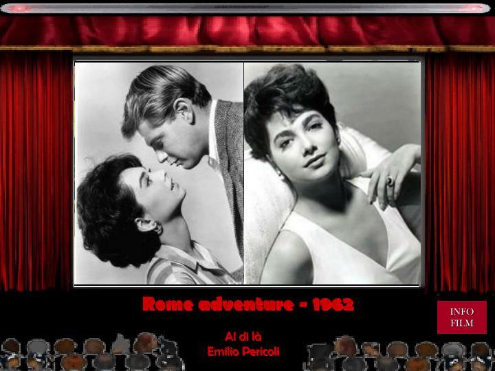 Rome adventure - 1962