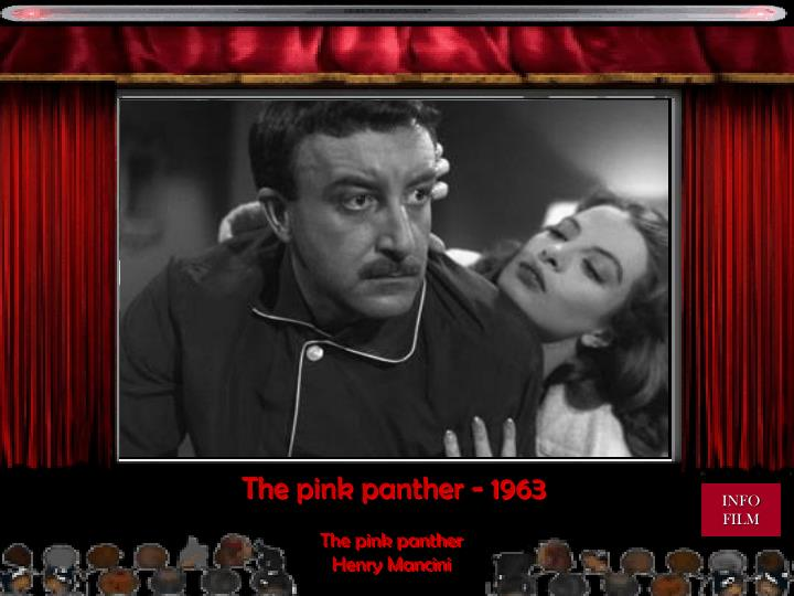 The pink panther - 1963