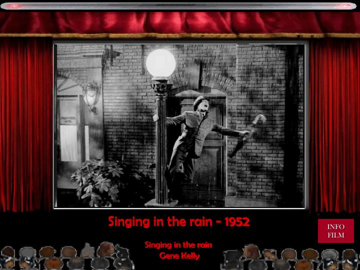 Singing in the rain - 1952