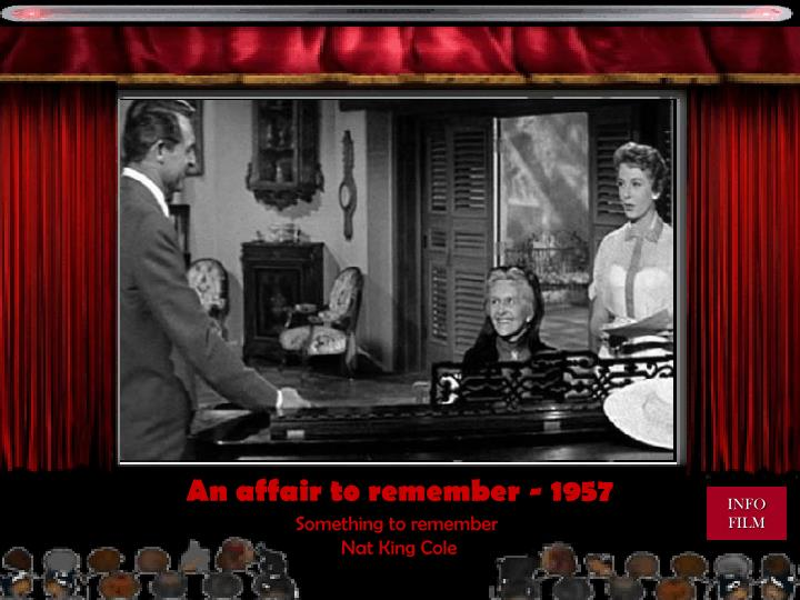 An affair to remember - 1957