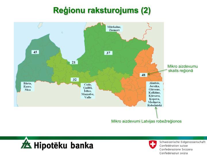 Reģionu raksturojums (2)