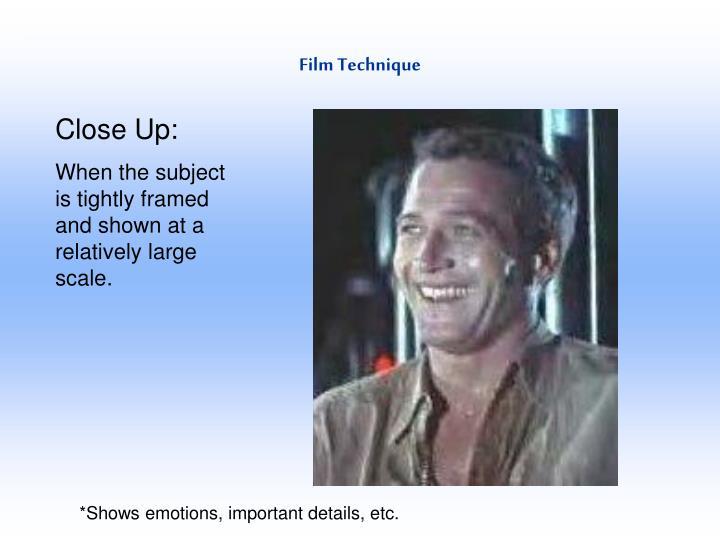 Film Technique