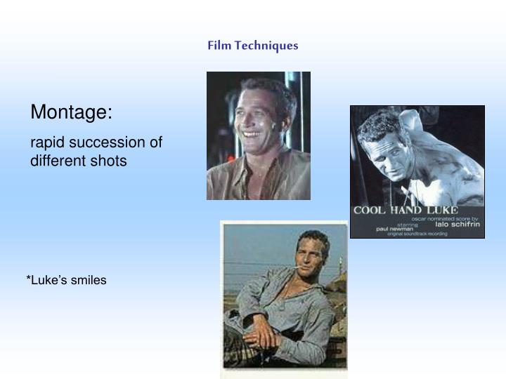 Film Techniques