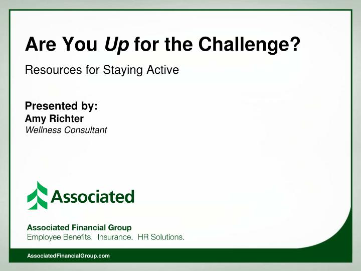 are you up for the challenge n.