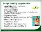 budget friendly gadgets ideas