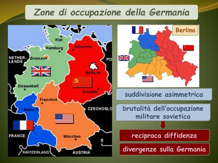 Zone di occupazione della Germania