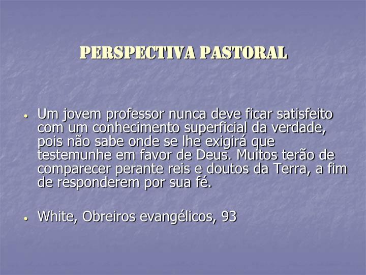 Perspectiva pastoral