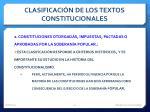 clasificaci n de los textos constitucionales2