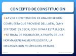 concepto de constituci n