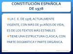 constituci n espa ola de 19781