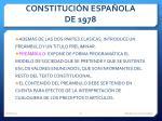constituci n espa ola de 19783