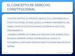 el concepto de derecho constitucional1