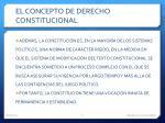 el concepto de derecho constitucional2
