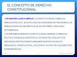 el concepto de derecho constitucional3