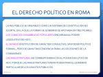 el derecho pol tico en roma1